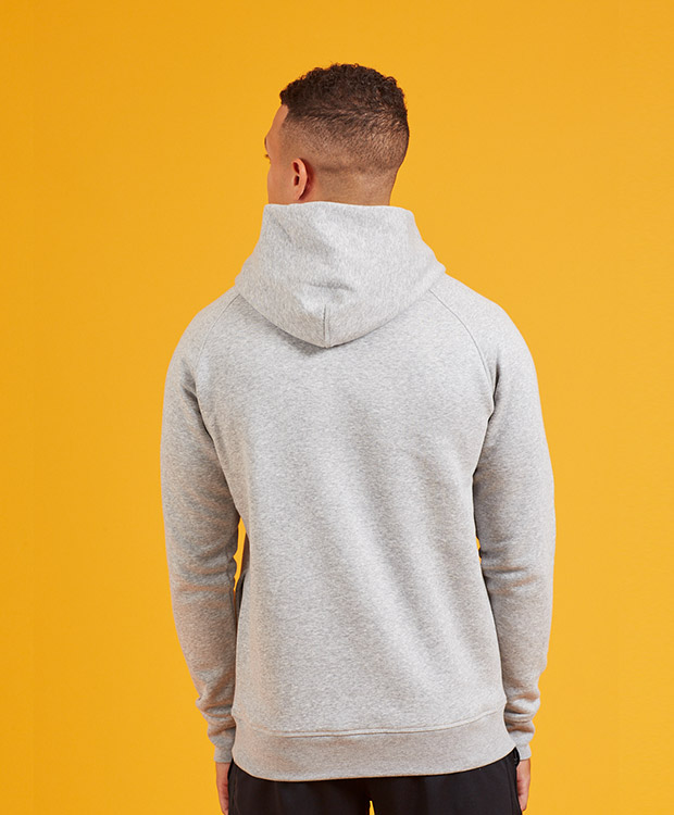 Sonality How it fits mens hoodie back