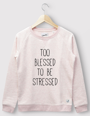 Blessed slogan personalised style