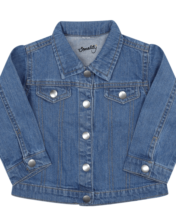 8dd2a3b4d Personalise this denim jacket easily to create personalised baby clothes