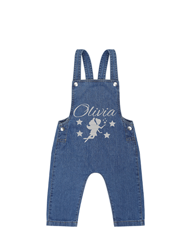 Personalised Baby Dungarees for personalised baby clothes