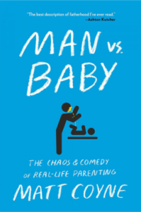 Man vs Book makes a great Father's Day Gift from baby