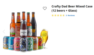 This beer case as a Father's Day Gift from baby is likely to please