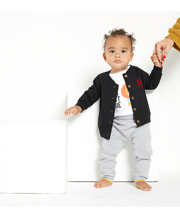 Baby Bomber Jacket Front