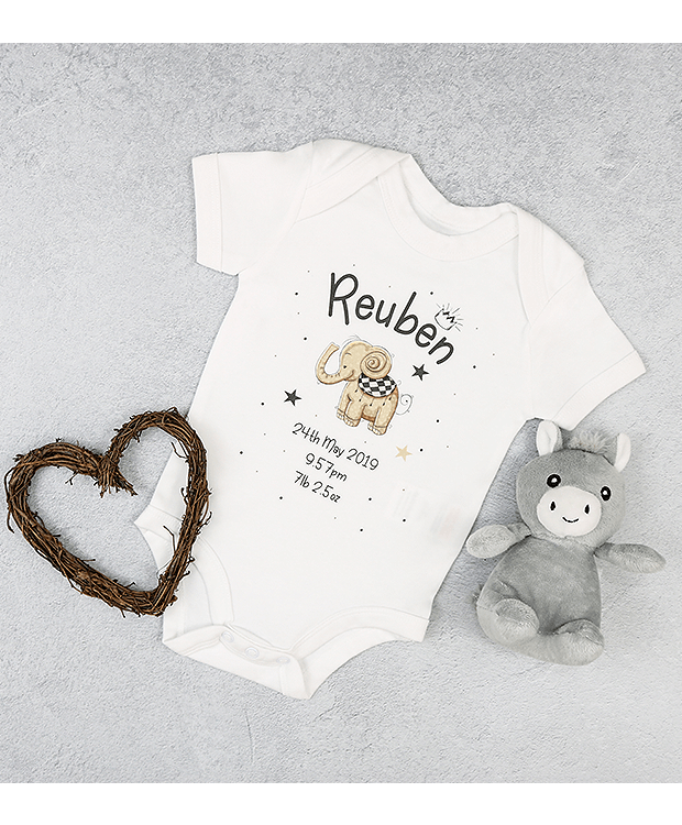 Birth announcement Bodysuit Image