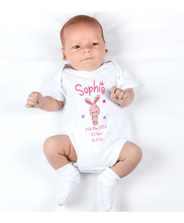 Birth announcement Bodysuit
