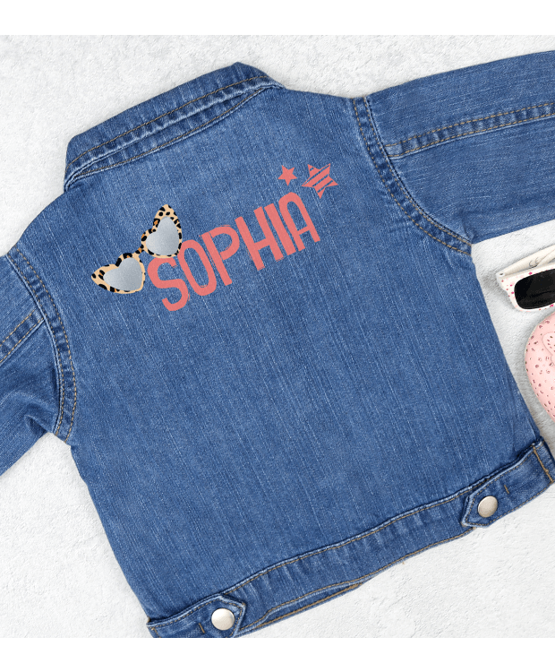 Personalised Baby Denim Jacket Image