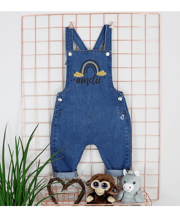 Personalised Baby Dungarees picture