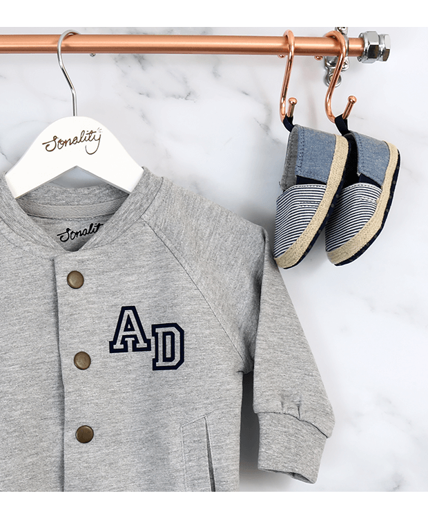 Bomber Jacket for babies with shoes
