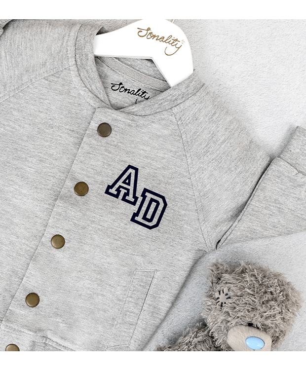 Bomber Jacket for babies angle