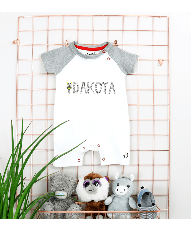 Personalised Baby Name Romper