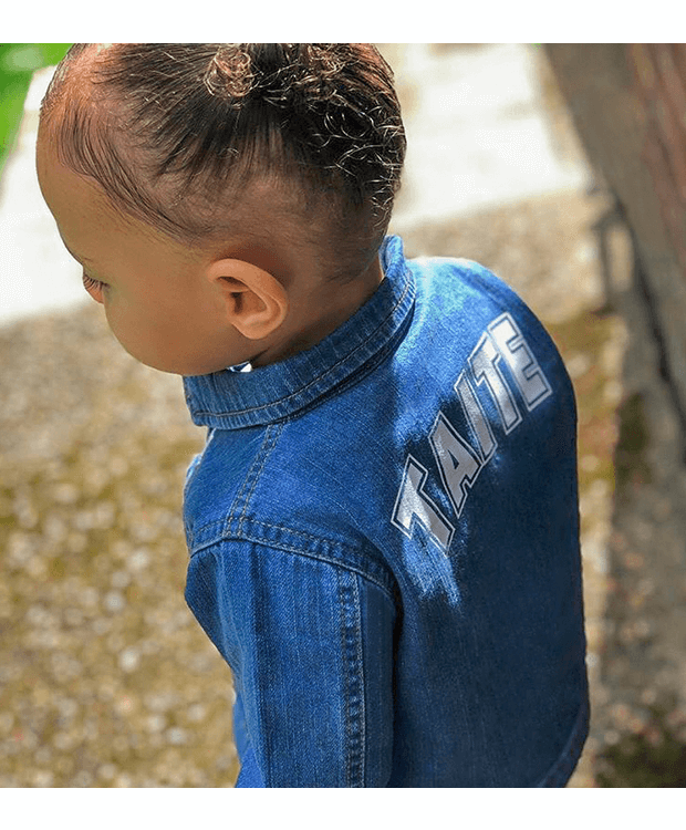 Personalised Denim Jacket Photo