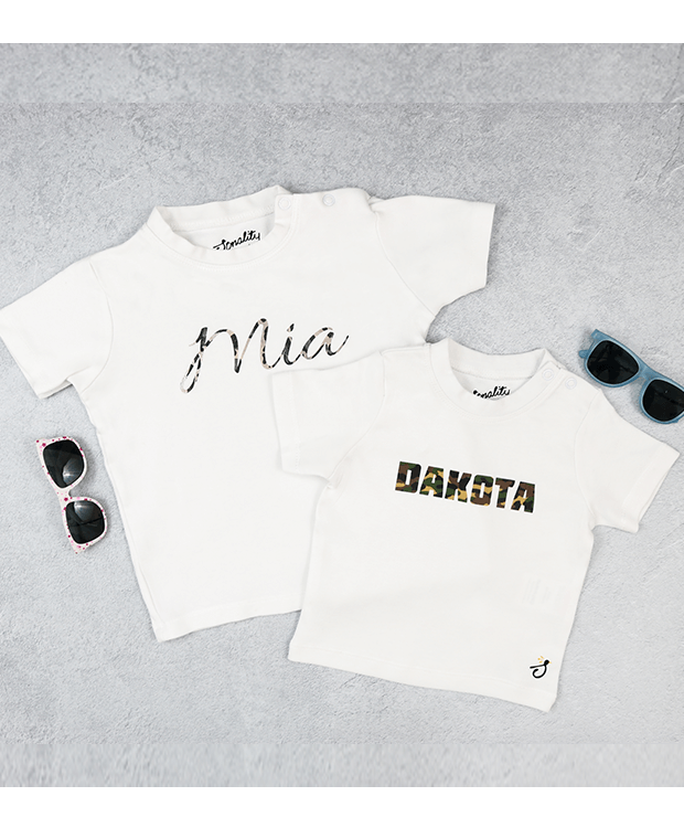 Personalised Name T Shirt Image