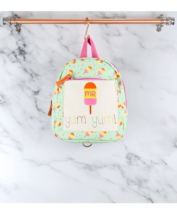 Pink Lining Mini Backpack
