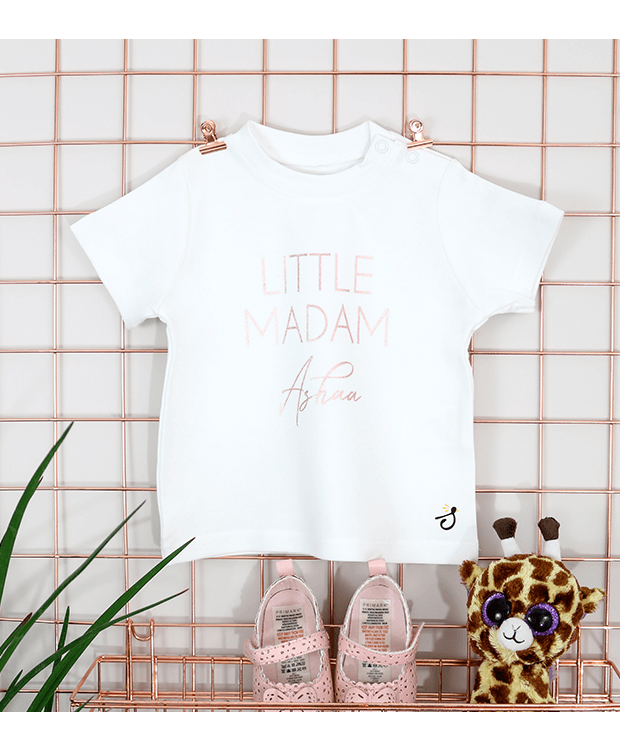 Personalised nickname T shirt for Babies Image