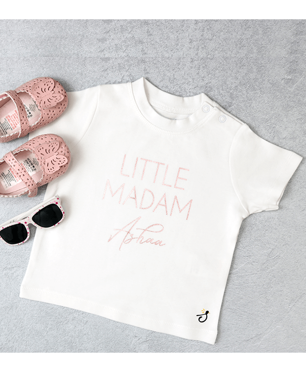 Personalised nickname T shirt for Babies