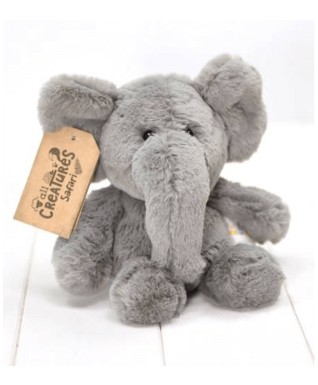 Personalised New Baby Record Gift Elephant