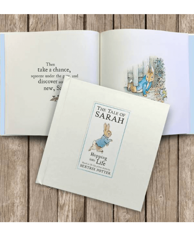 Personalised Peter Rabbit Book overview