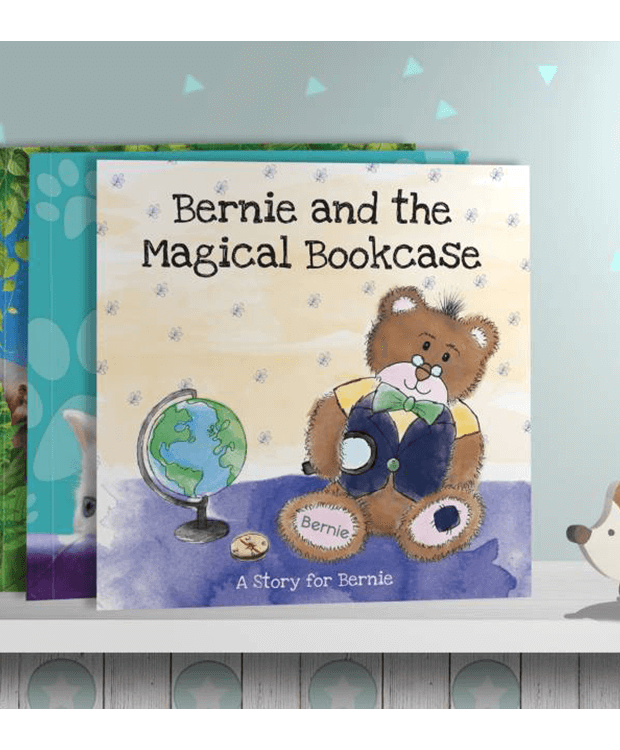 Personalised Story Book with bookcase