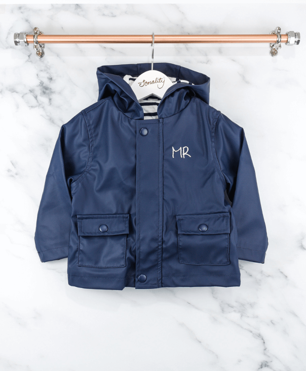 Toddler Raincoat Blue