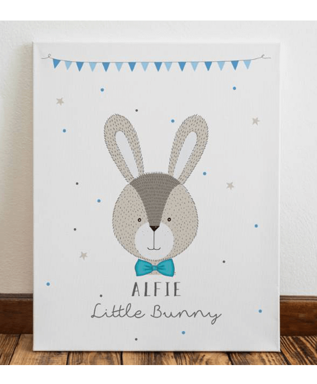 Personalised Baby Room Canvas