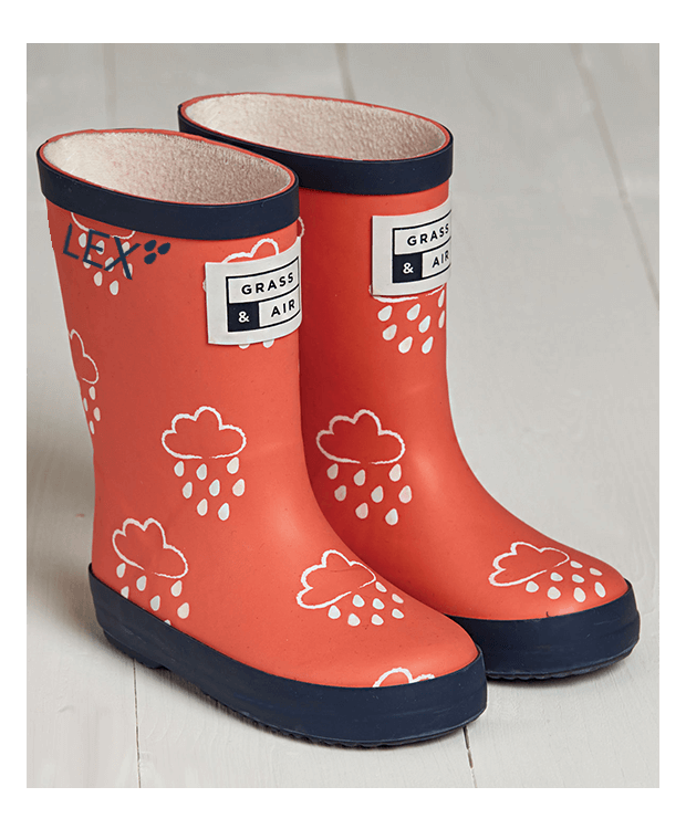 Toddler Wellies in Coral
