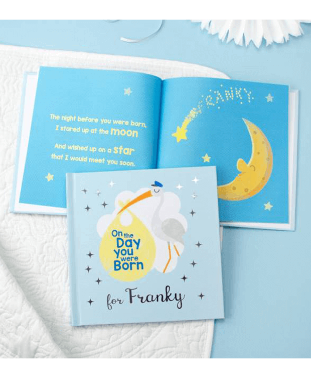 Personalised New Baby Book Main Image