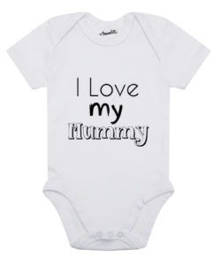 Design Your Own Personalised Baby Clothes i love my mummy