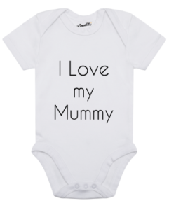 Design Your Own Personalised Baby Clothes baby vest