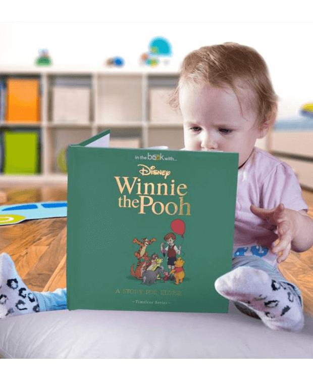 Personalised Book with Winnie the Pooh Main Image