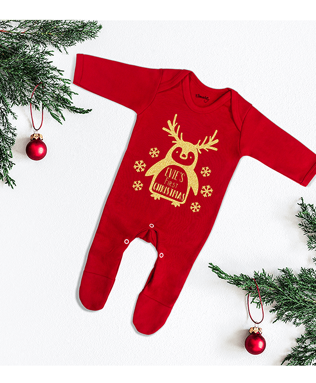 My First Christmas Baby Grow image for page