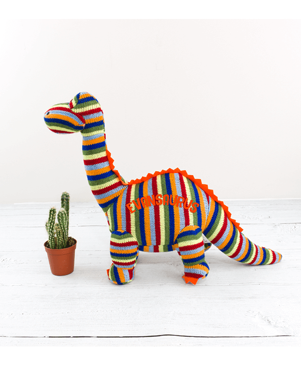Personalised teddy dinosaur Main image
