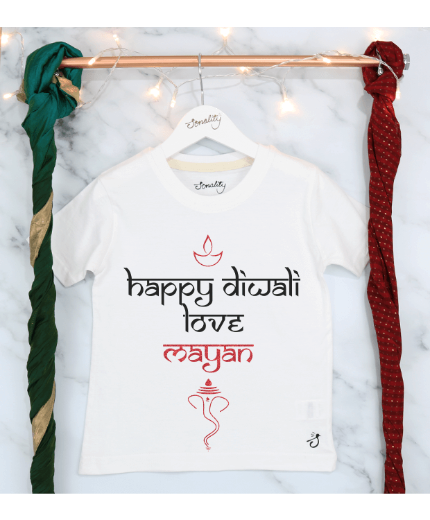 Happy Diwali T Shirt Image