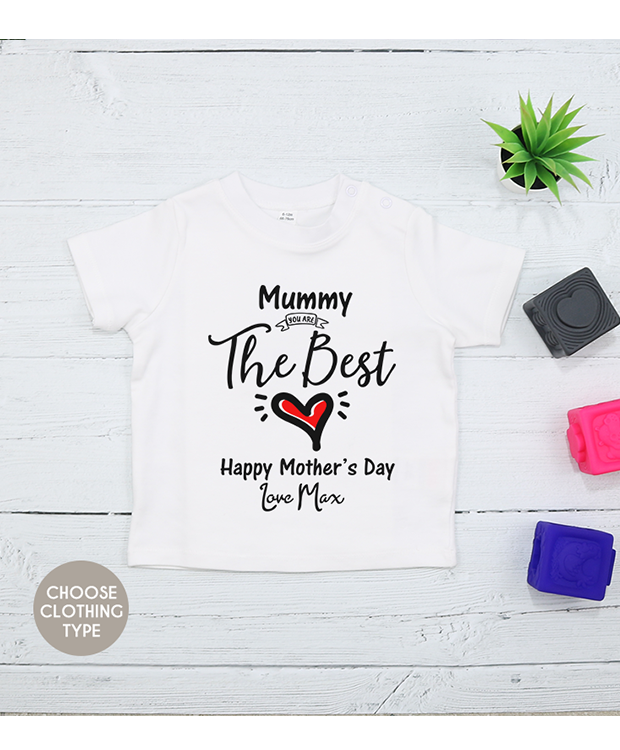 personalised Mother's Day vest