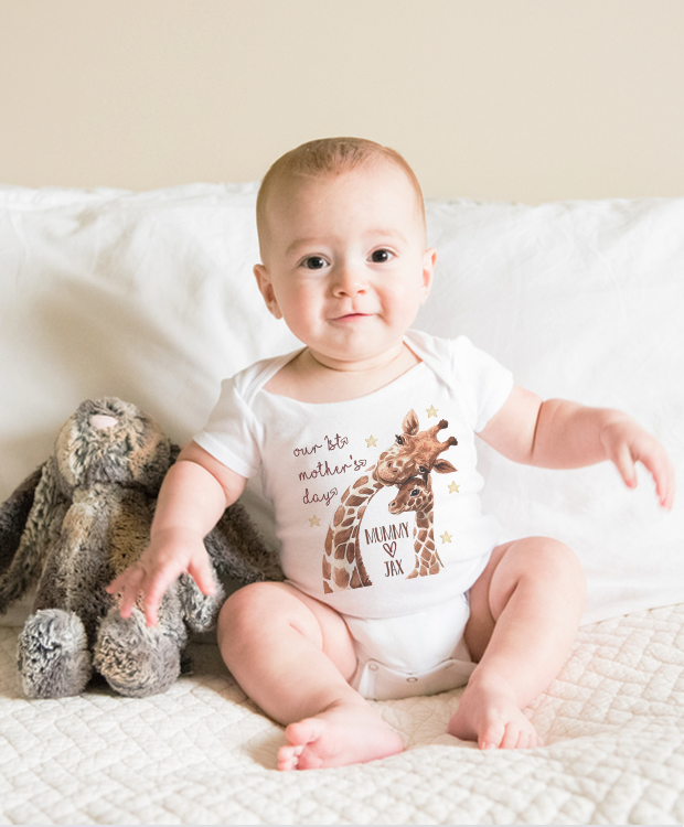 Personalised Mother's Day Babygrows