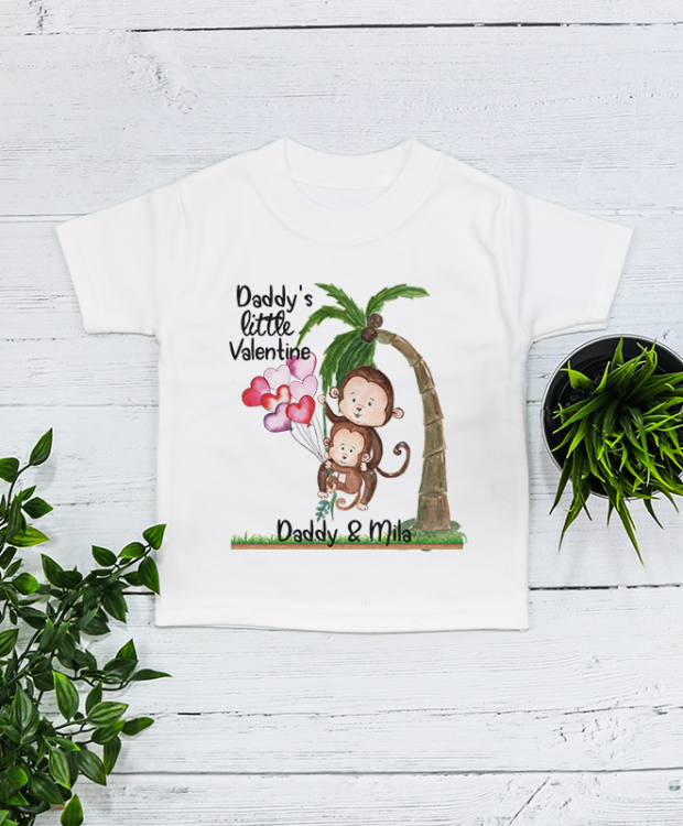 Personalised Monkey Mother's Day T Shirt product image
